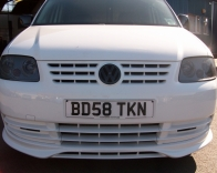 VW Caddy Badges + Headlights