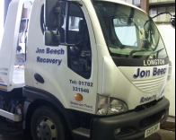 Jon Beech Recovery Truck