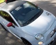 Fiat 500 Abarth Carbon Fibre